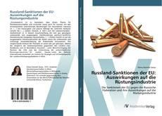 Portada del libro de Russland-Sanktionen der EU: Auswirkungen auf die Rüstungsindustrie