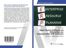 Portada del libro de Open Source Software als Alternative zur kommerziellen ERP Software