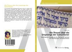 Buchcover von Die Thesen über die Ursprünge der Samaritaner