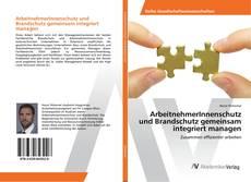 Buchcover von ArbeitnehmerInnenschutz und Brandschutz gemeinsam integriert managen