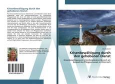 Krisenbewältigung durch den gehobenen Dienst kitap kapağı