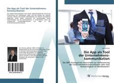 Buchcover von Die App als Tool der Unternehmenskommunikation