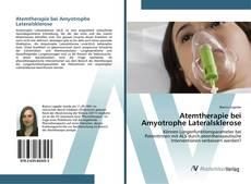 Buchcover von Atemtherapie bei Amyotrophe Lateralsklerose