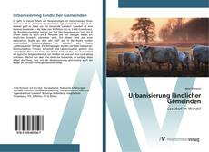 Bookcover of Urbanisierung ländlicher Gemeinden