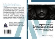 Analyse des ersten deutschen Fernsehsenders für homosexuelle Männer kitap kapağı