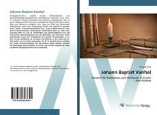 Buchcover von Johann Baptist Vanhal