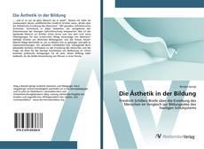 Capa do livro de Die Ästhetik in der Bildung