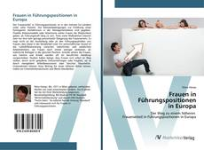 Portada del libro de Frauen in Führungspositionen in Europa