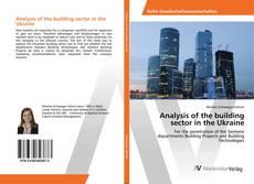 Capa do livro de Analysis of the building sector in the Ukraine