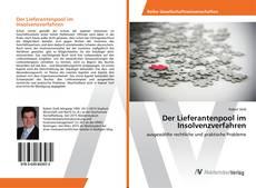 Bookcover of Der Lieferantenpool im Insolvenzverfahren