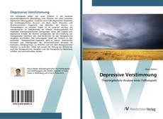 Depressive Verstimmung kitap kapağı
