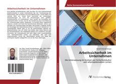 Buchcover von Arbeitssicherheit im Unternehmen
