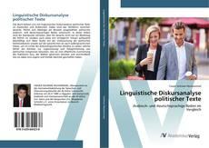 Capa do livro de Linguistische Diskursanalyse politischer Texte
