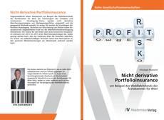 Bookcover of Nicht derivative Portfolioinsurance