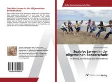 Capa do livro de Soziales Lernen in der Allgemeinen Sonderschule