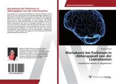 Capa do livro de Wortakzent bei Parkinson in Abhängigkeit von der Lateralisation