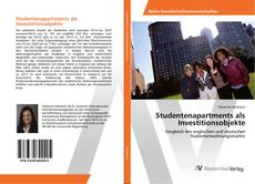 Bookcover of Studentenapartments als Investitionsobjekte
