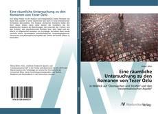 Buchcover von Eine räumliche Untersuchung zu den Romanen von Tezer Özlü
