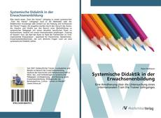 Bookcover of Systemische Didaktik in der Erwachsenenbildung