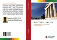 Capa do livro de Ética, política e educação