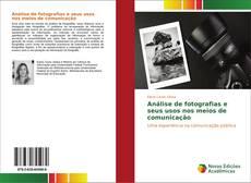 Capa do livro de Análise de fotografias e seus usos nos meios de comunicação