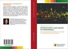 Capa do livro de Comunicação e percepção no ciberespaço