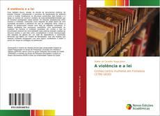 Buchcover von A violência e a lei