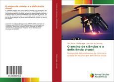Capa do livro de O ensino de ciências e a deficiência visual