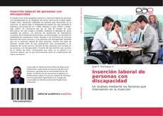 Bookcover of Inserción laboral de personas con discapacidad