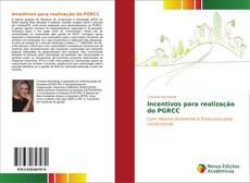 Bookcover of Incentivos para realização do PGRCC