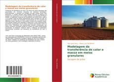 Capa do livro de Modelagem da transferência de calor e massa em meios granulares