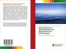 Capa do livro de Metacognição e aprendizagem do diagnóstico de enfermagem