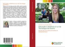 Capa do livro de Educação a distância à luz da Tecnologia do Ensino