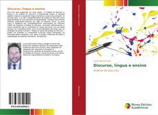 Capa do livro de Discurso, língua e ensino
