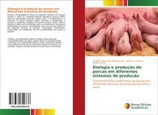 Capa do livro de Etologia e produção de porcas em diferentes sistemas de produção