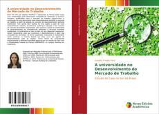 Bookcover of A universidade no Desenvolvimento do Mercado de Trabalho