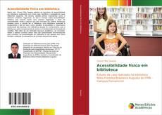 Capa do livro de Acessibilidade física em biblioteca