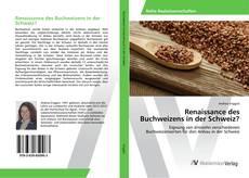 Bookcover of Renaissance des Buchweizens in der Schweiz?