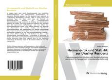 Portada del libro de Hermeneutik und Statistik zur Uracher Residenz