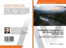 Buchcover von Stakeholder Engagement in der Anpassung an den Klimawandel