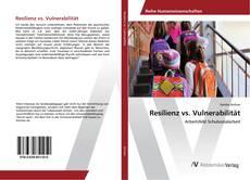 Portada del libro de Resilienz vs. Vulnerabilität