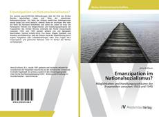 Emanzipation im Nationalsozialismus? kitap kapağı