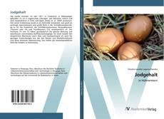 Buchcover von Jodgehalt