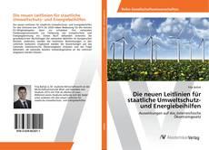 Borítókép a  Die neuen Leitlinien für staatliche Umweltschutz- und Energiebeihilfen - hoz