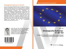 Capa do livro de Strategische Kulturen in der EU