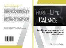 Buchcover von Familienanforderungen und Karrieredisengagement