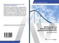 Portada del libro de Mathematische Arbeitsweisen in der gymnasialen Oberstufe
