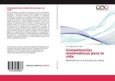 Buchcover von Competencias matemáticas para la vida