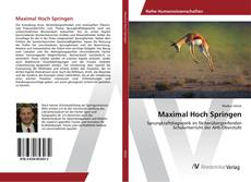 Portada del libro de Maximal Hoch Springen