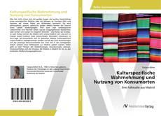 Bookcover of Kulturspezifische Wahrnehmung und Nutzung von Konsumorten